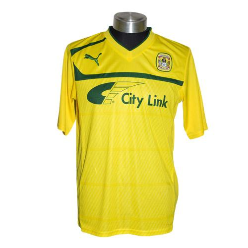 Yellow Coventry City Shirt 2013