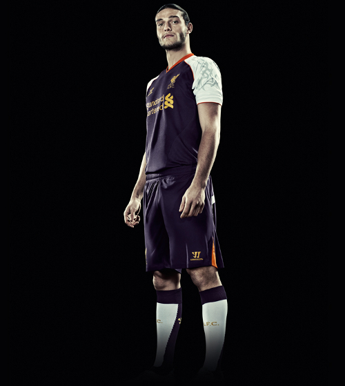 Andy Carroll Liverpool 2012 Jersey