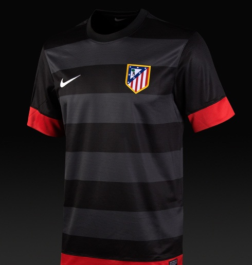Atletico Madrid New Away Jersey 12-13