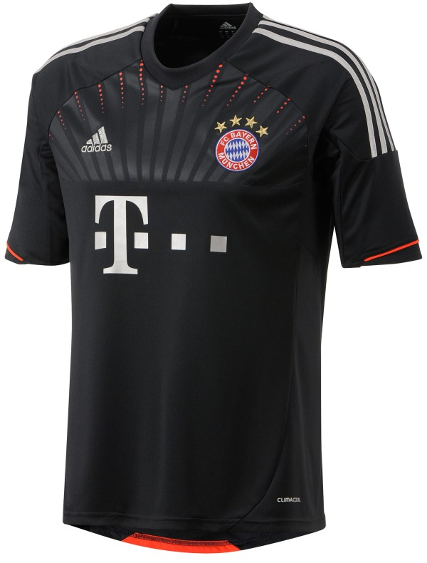 New Bayern Munich Third Kit 12-13- Adidas FC Bayern Champions League ... 5c3c63b56