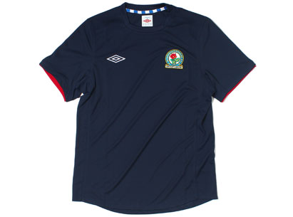 Blue Blackburn Rovers Shirt