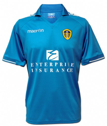 Blue LUFC Away Shirt 2012