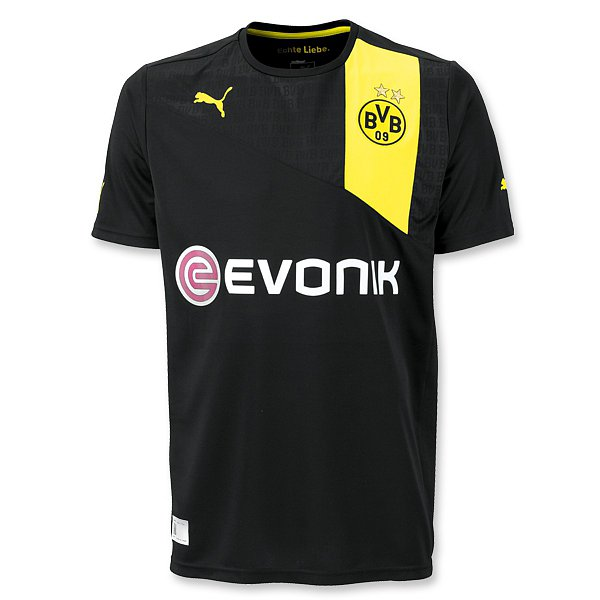 Borussia Dortmund Away Kit 12-13