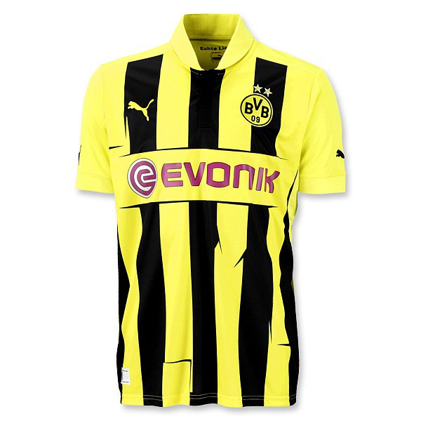 huge selection of ad4a0 00cf4 New Borussia Dortmund Champions League Jersey 12-13- Puma ...