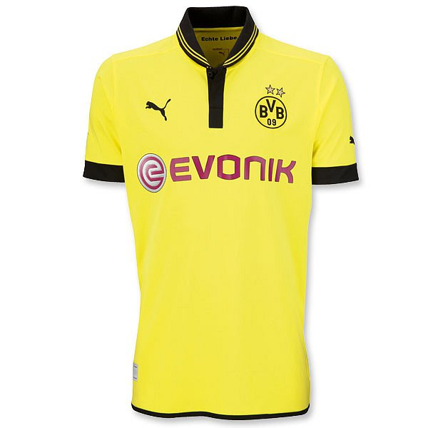 New Dortmund Kit 12 13 Puma Borussia Dortmund Bvb 2012 2013 Home Away Third Jerseys Football Kit News