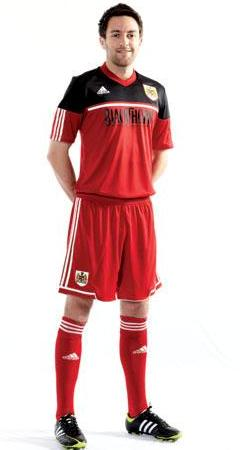 Bristol City New Home Kit 12-13