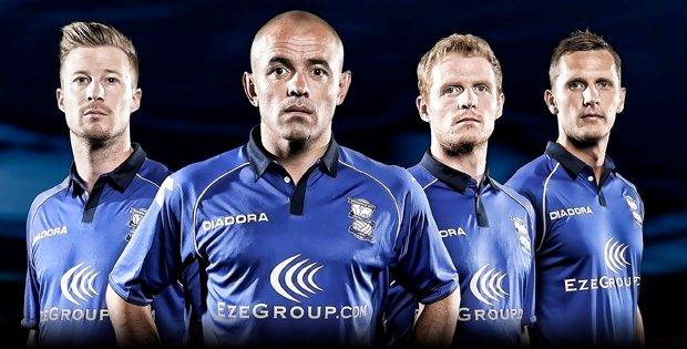Diadora Birmingham City Kit 2012/13