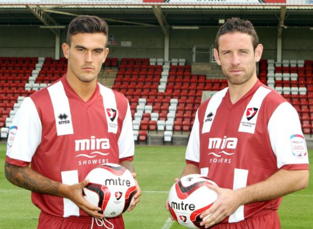 Errea Cheltenham Town Home Kit