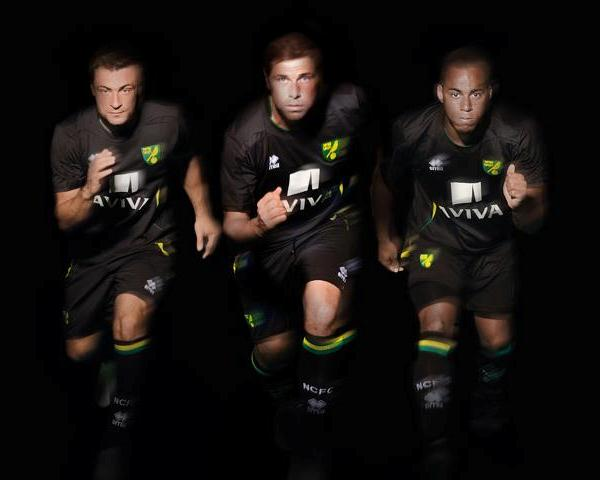 Errea Norwich City Away Kit 12 13