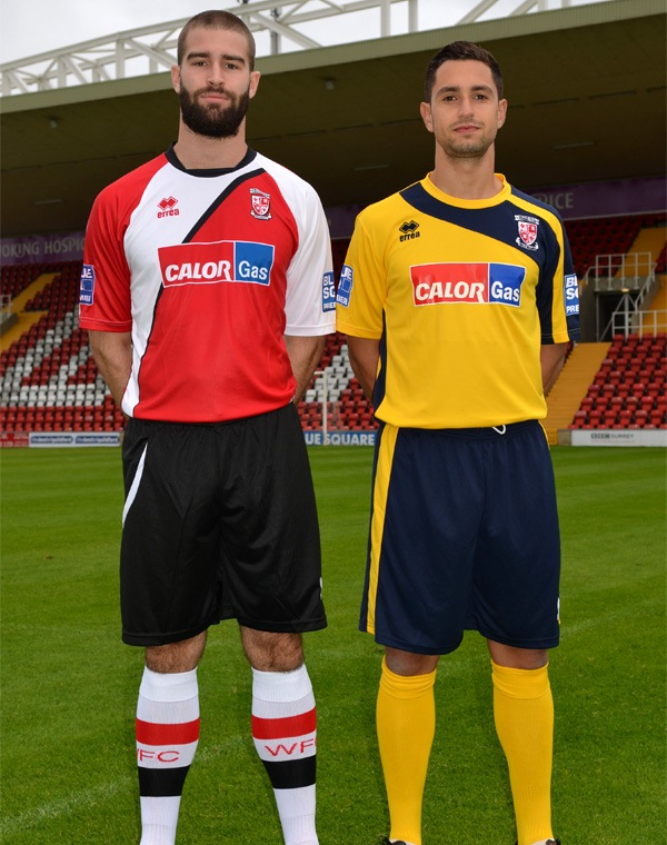 Errea Woking FC Kit 2012/13