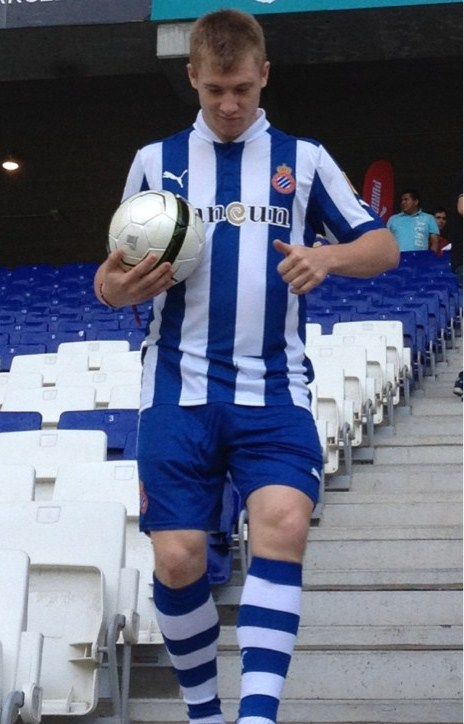Espanyol Home Shirt 2013