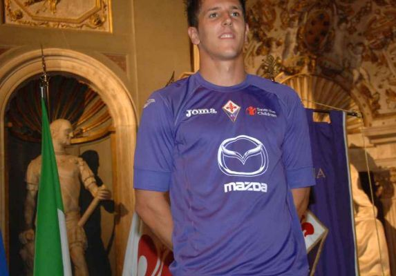 Fiorentina Home Kit 12 13