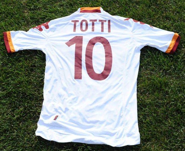 Francesco Totti Roma 2012