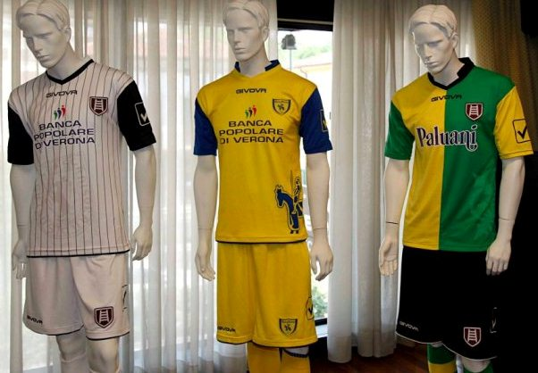New chievo kit 2012 2013 givova chievo verona home away for Uniform verona