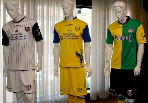 new chievo kit 2012 2013 givova chievo verona home away