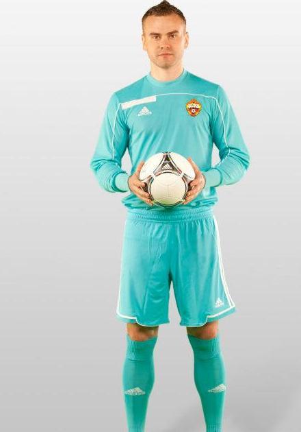 Igor Akinfeev CSKA Moscow 2012 Soccer Jersey
