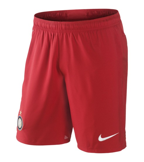 Inter Soccer Shorts 2012