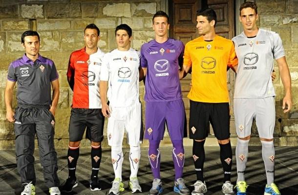 61f111284e New Fiorentina Kits 12-13- Joma AC Fiorentina Jerseys Home Away ...