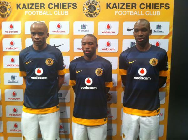 Kaizer Chiefs New Kit 2013