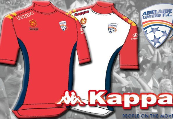 Kappa Adelaide United Jersey 2012