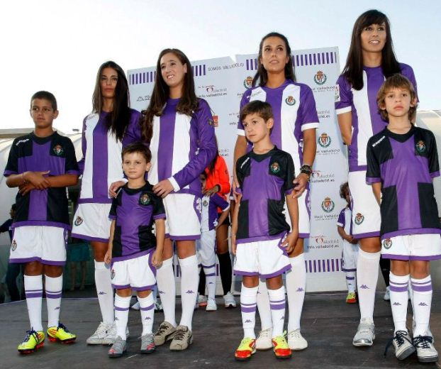 Kappa Real Valladolid Equipacion 2012