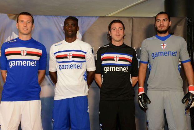 Kappa Sampdoria Jersey 2012