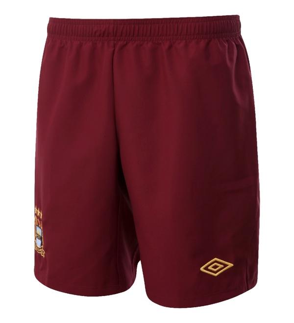 MCFC Away Shorts 12-13