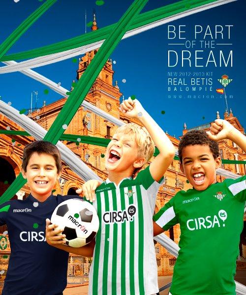 Macron Real Betis Soccer Jersey