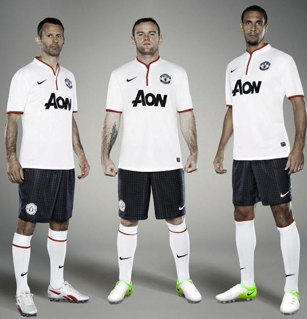 Man Utd Away Strip 2012