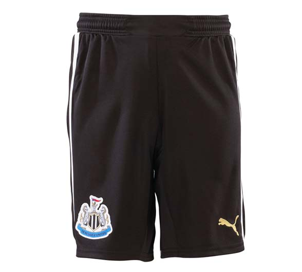 NUFC Home Shorts 2013