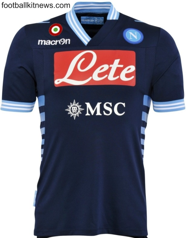 Napoli Away Jersey 2013