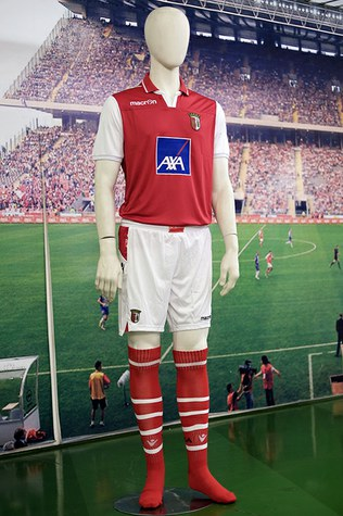 New Braga Home Shirt 2013