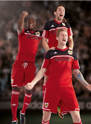 New Bristol City Home Kit 12-13
