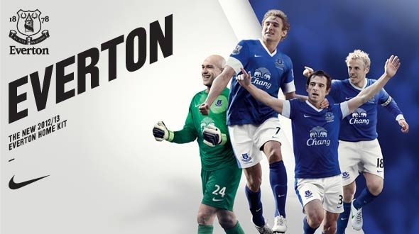 New EFC Home Kit 2012