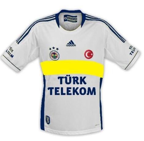 New Fenerbahce Football Kit 2012/13