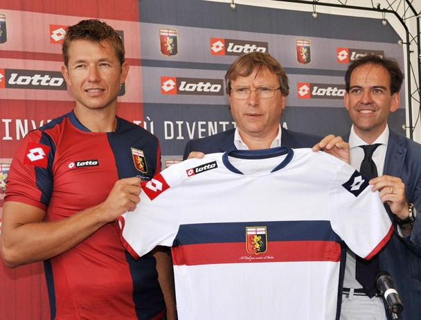 New Genoa Kit 2012-13