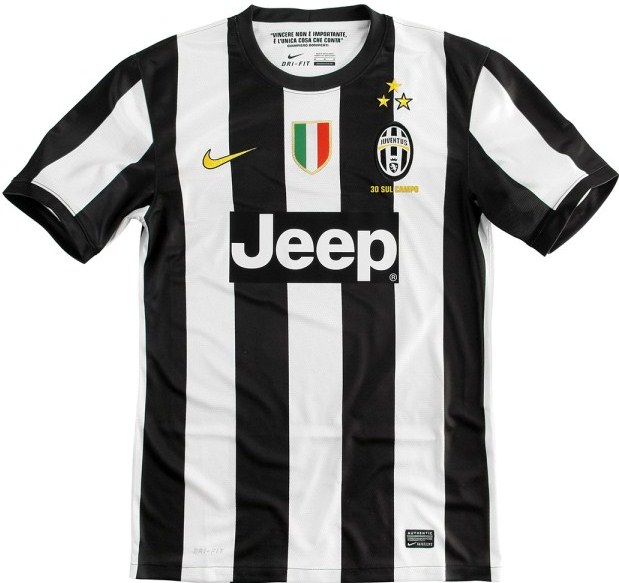 New Juventus Home Kit 12 13