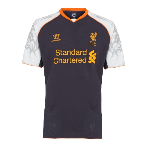 best service 77525 b7403 New Liverpool Third Kit 12-13- Warrior Sports Liverpool ...