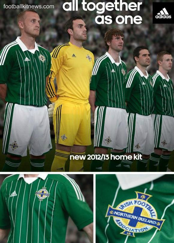 New Northern Ireland Adidas Kit 2013