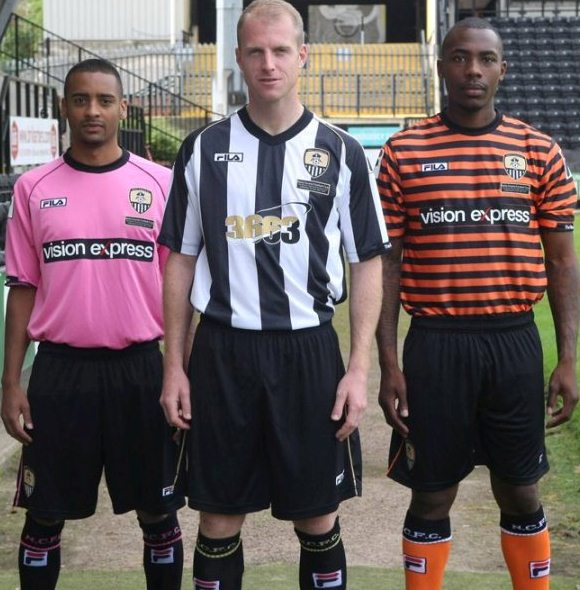 New Notts County Kit 2012/13