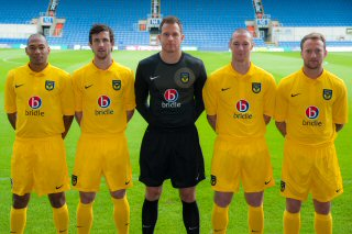 New Oxford United Home Kit 12 13