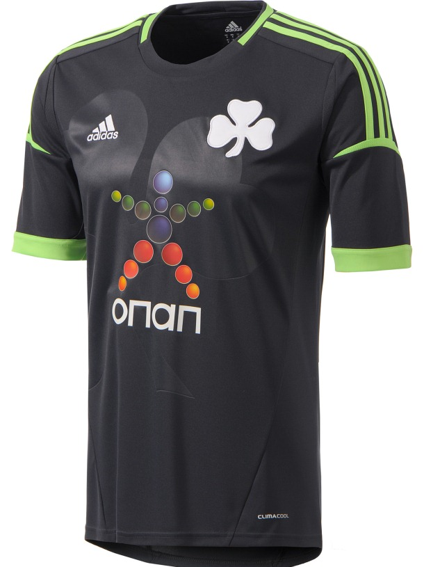 New Panathinaikos Away Jersey 2012/13