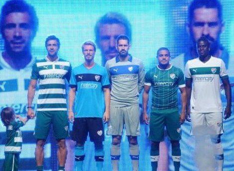 New Puma Bursaspor Jersey 2012