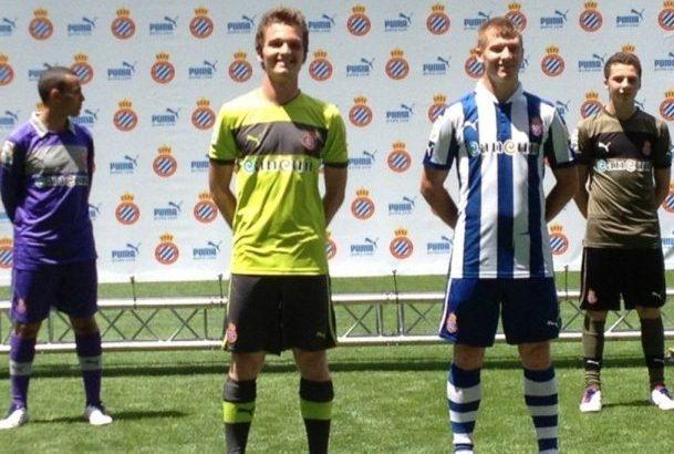 New RCD Espanyol Jerseys 2013
