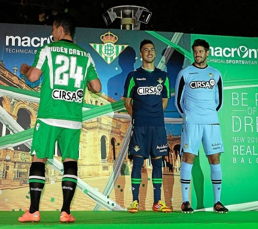 New Real Betis Kit 12 13