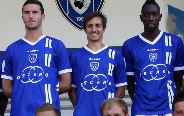 New SC Bastia Soccer Jersey 2012