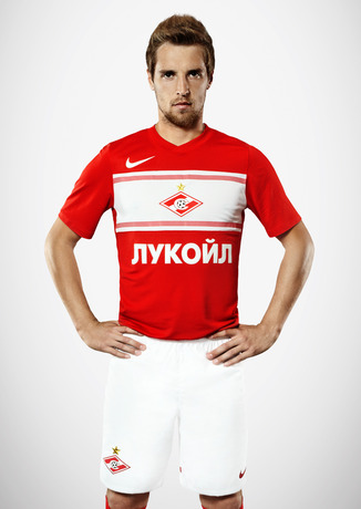 New Spartak Moscow Home Kit 2012