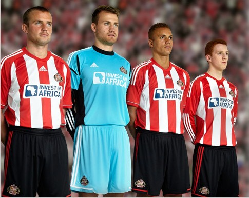 New Sunderland Home Kit 12 13