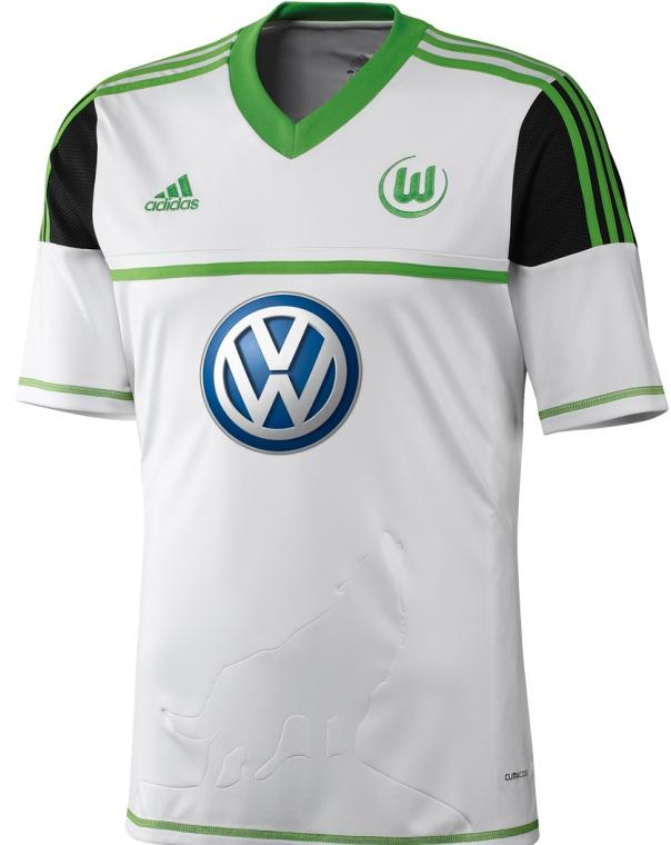 New VFL Wolfsburg Jersey 12/13