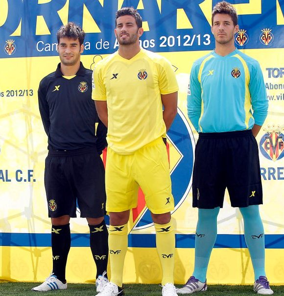New Villarreal Kit 12 13